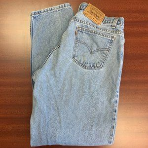 Vintage 560 Levi's Loose Fit & Orange Tab